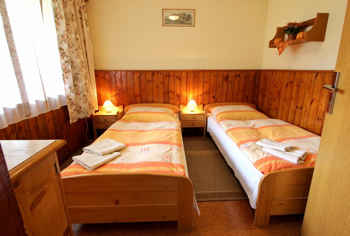 Chata - spálňa
