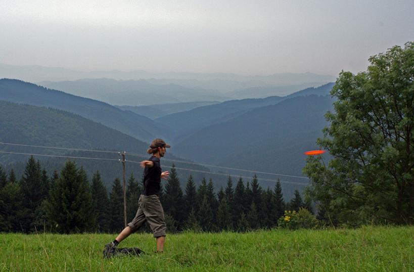 Foto: Discgolf Bratislavský lesopark - Malý Slavín