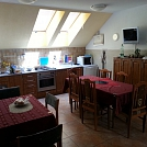kuchyňa na poschodí domu